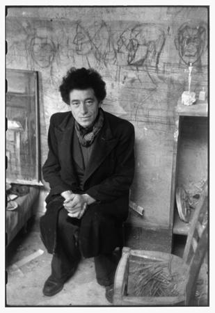 Alberto Giacometti, Paris, 1945 » © Henri Cartier-Bresson / Magnum Photos.