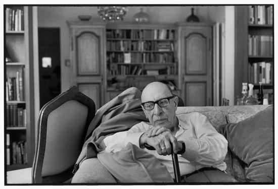 Ígor Stravinski, 1967. © Henri Cartier-Bresson / Magnum Photos. Fotografía, gelatina de plata sobre papel, 30 x 40 cm.