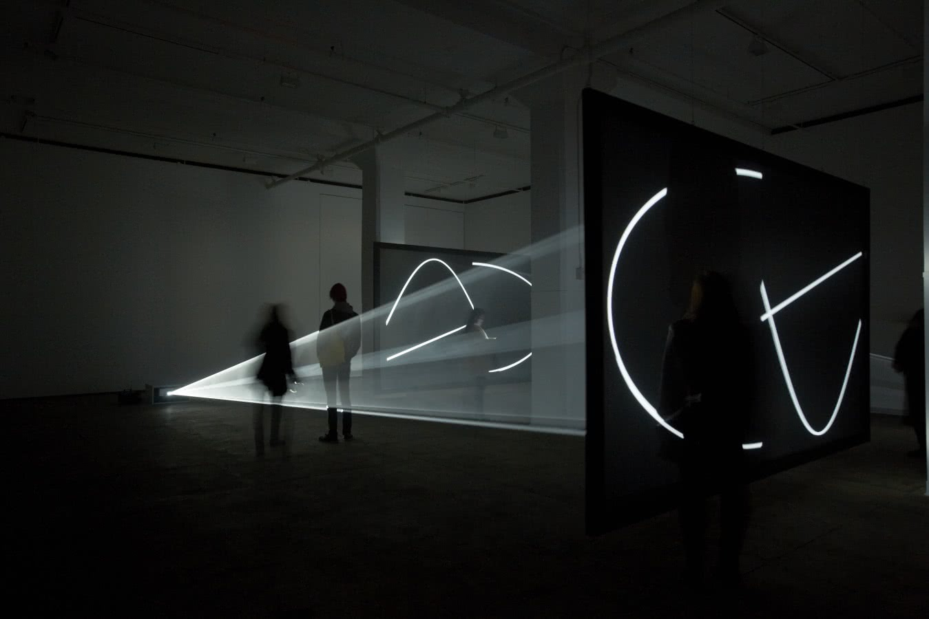 Anthony McCall. Face to face III. 2013. Sean Kelly Gallery.