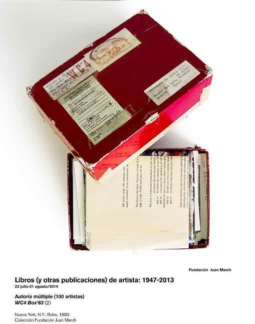 Autoría Múltiple (100 artistas). WC4 Box'83. Nueva York, N.Y.-Rahe, 1983. Colección Fundación Juan March