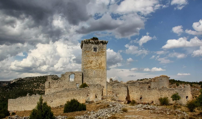 Castillo de Ucero (Soria).