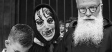 Eugeni Forcano. La máscara intrusa, Fiesta de Sant Ponç, Barcelona, 1964