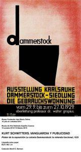 Poster de la exposicion La colonia Dammerstock 1929