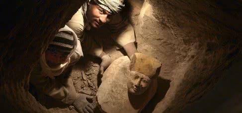 Tumba de Hery, Djehuty (Egipto). Campaña 2012. Foto Jose Latova
