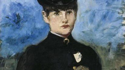Édouard Manet. Amazona de frente (detalle). 1882. Colección Thyssen-Bornemisza.