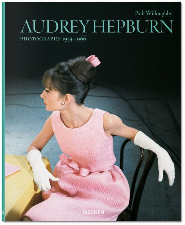 Bob Willoughby. Audrey Hepburn. Photographs 1953–1966. Portada