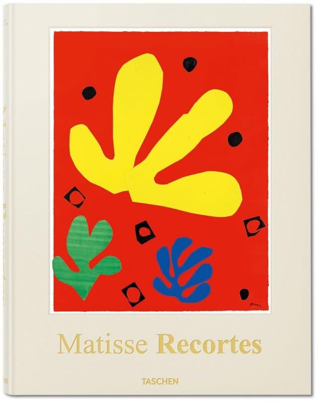 Henri Matisse. Recortes. Dibujando con tijeras. Portada