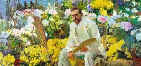 Joaquín Sorolla. Louis Comfort Tiffany, 1911