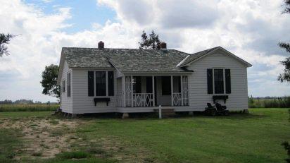 La casa de la infancia de Johnny Cash (Foto: Wikipedia)