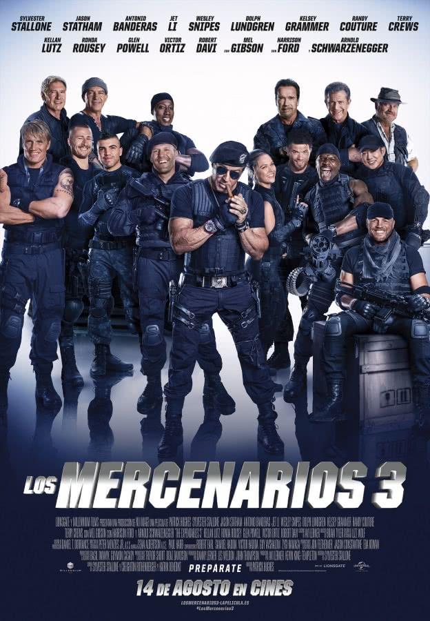 Los mercenarios 3 Cartel