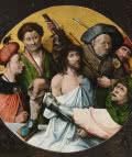 """Cristo coronado de espinas. Hieronymus van Aeken Bosch """"El Bosco"""", primer cuarto del s. XVI. Patrimonio Nacional."""