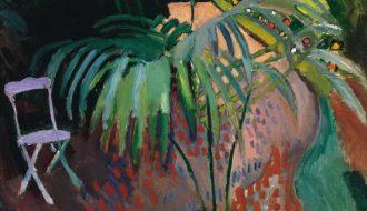 Raoul Dufy. La pequeña palmera. 1905. Colección Carmen Thyssen-Bornemisza.