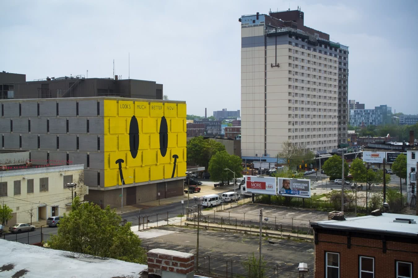 Mural de Escif en Station North. Transit: Creative placemaking with Europe in Baltimore.