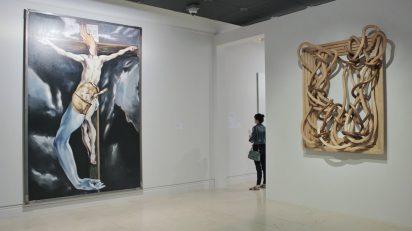 Exposición 'Entre el cielo y la tierra'. Foto Sonia Aguilera.