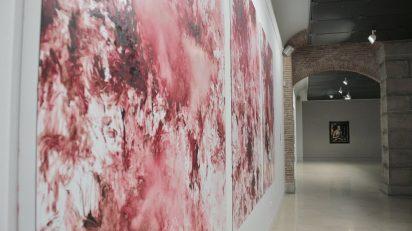 Exposición 'Entre el cielo y la tierra'. Foto: Sonia Aguilera.