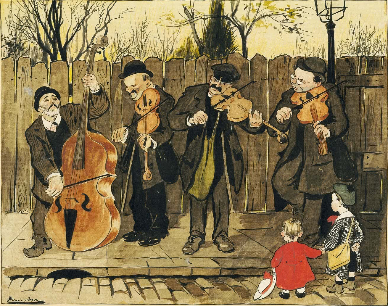 Francisco Sancha. Los ciegos, 1906