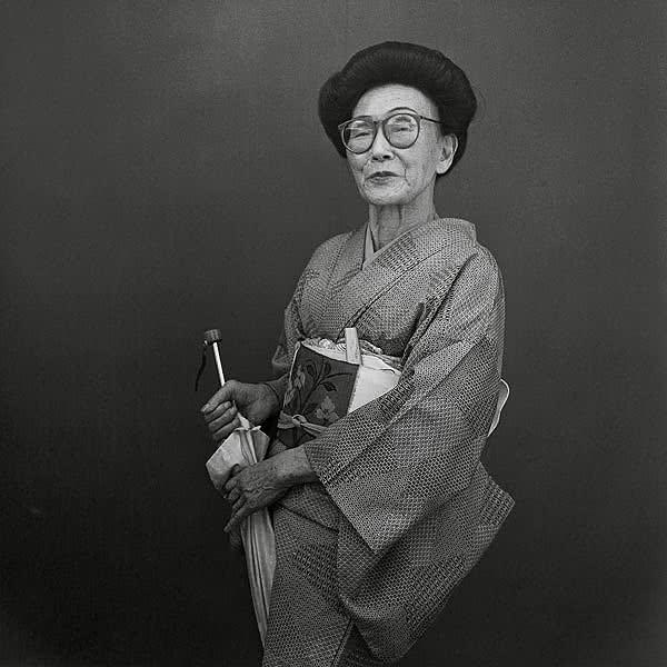 Hiroh Kikai. Retratos de Asakusa3