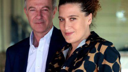 José Guirao y Lucía Casani.