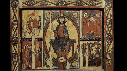 Frontal de Sant Martí de Puigbò. Primer quart del segle XII. © Museu Episcopal de Vic, Francesc Tena.