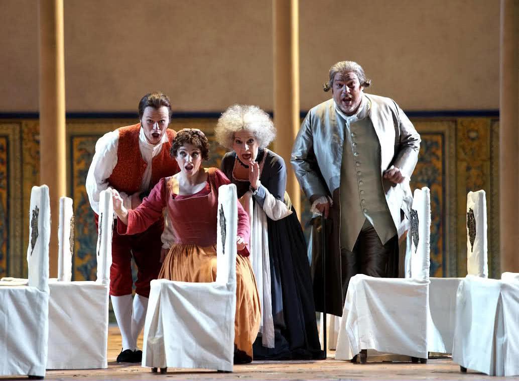 'Las Bodas de Fígaro' (Foto: Javier del Real / Teatro Real)
