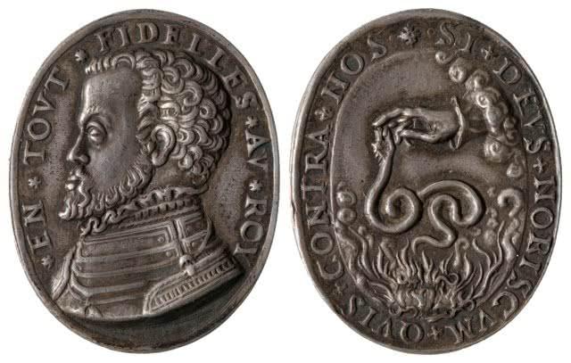Anónimo. Alzamiento de los Países Bajos (medallas geuzen). 1566.