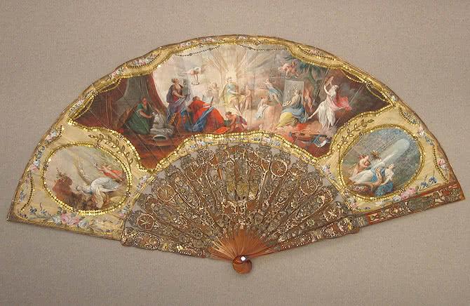 Alegoría de las Artes o las cuatro estaciones. Francia, último tercio del siglo XVIII. © Museo Lázaro Galdiano. Madrid.