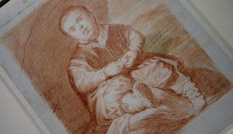 Dibujos españoles en la Hamburger Kunsthalle. Cano, Murillo y Goya. Foto: Sonia Aguilera.
