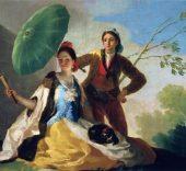 Francisco Goya. El parasol, 1777