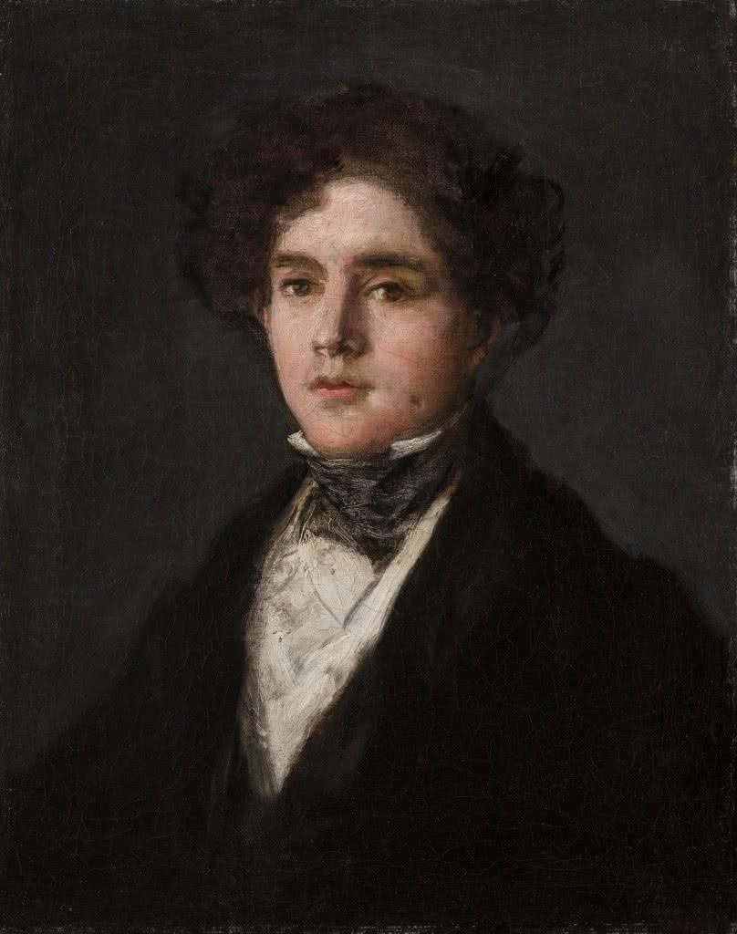 Francisco Goya. Retrato de Mariano Goya, 1927