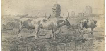 Joaquín Sorolla. Bueyes en el campo, 1882-1887.