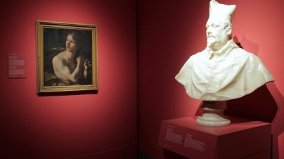 Exposición 'Las Ánimas de Bernini'. Foto: Sonia Aguilera.