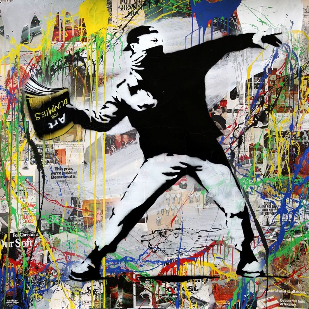 Mr. Brainwash. Banksy Thrower