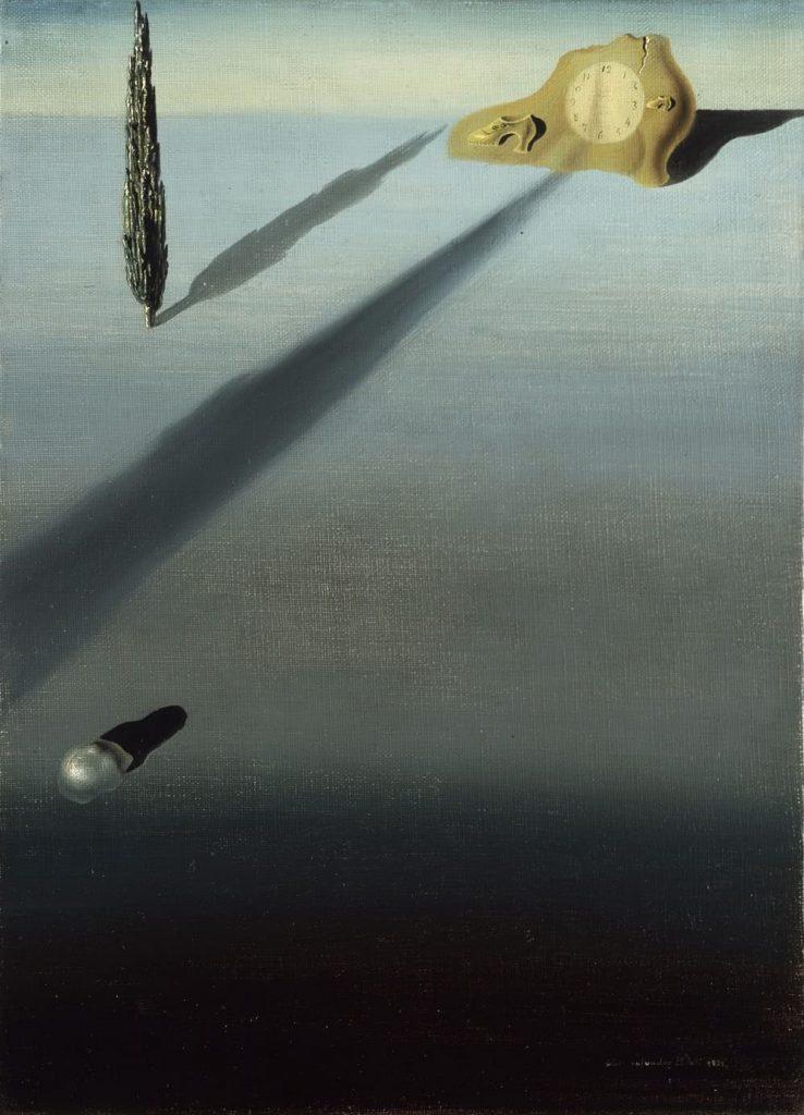 Salvador Dalí. El sentimiento de velocidad, 1931