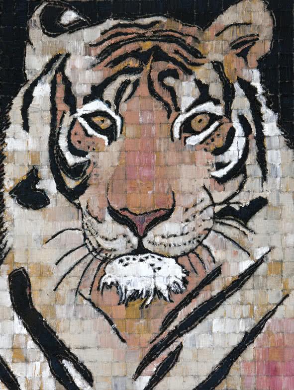 Ghizlan El Glaoui. Tiger