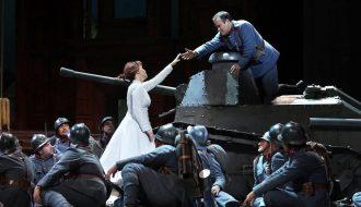 'Le fille du régiment'. (Foto: Javier del Real / Teatro Real)