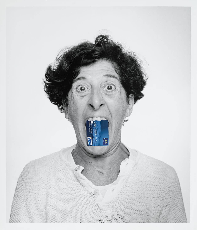 «Les Choses, version 2011» tiré de la série «le Livre des têtes. Je l'ai retrouvée!». Foto: Esther Ferrer.