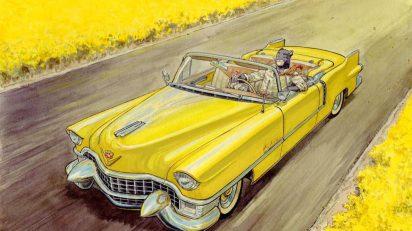 'Amarillo', de Canales y Garnido, cómic de la serie 'Blacksad'.