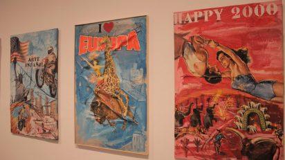 Patricia Gadea. Atomic-Circus. Museo Nacional Centro de Arte Reina Sofía. Foto: Luis Martín.