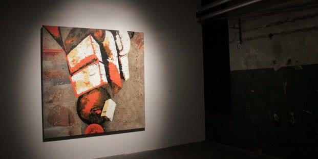 José Manuel Ciria. Las puertas de Uaset. Tabacalera - Espacio de Promoción del Arte. Foto: Luis Martín.