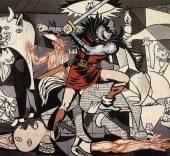 La pintura en el cómic.