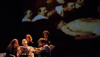 Lectura dramatizada de la obra 'Estado de gracia', de Fernando Epelde. XVII Ciclo SGAE de Lecturas Dramatizadas. Foto: Luis Camacho.