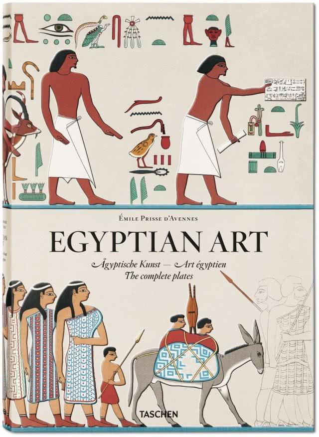 Portada Émile Prisse d'Avennes. Egyptian Art
