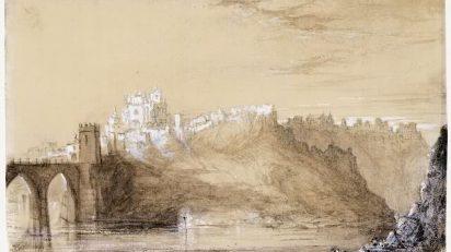 Toledo. Vista hacia San Juan de los Reyes.