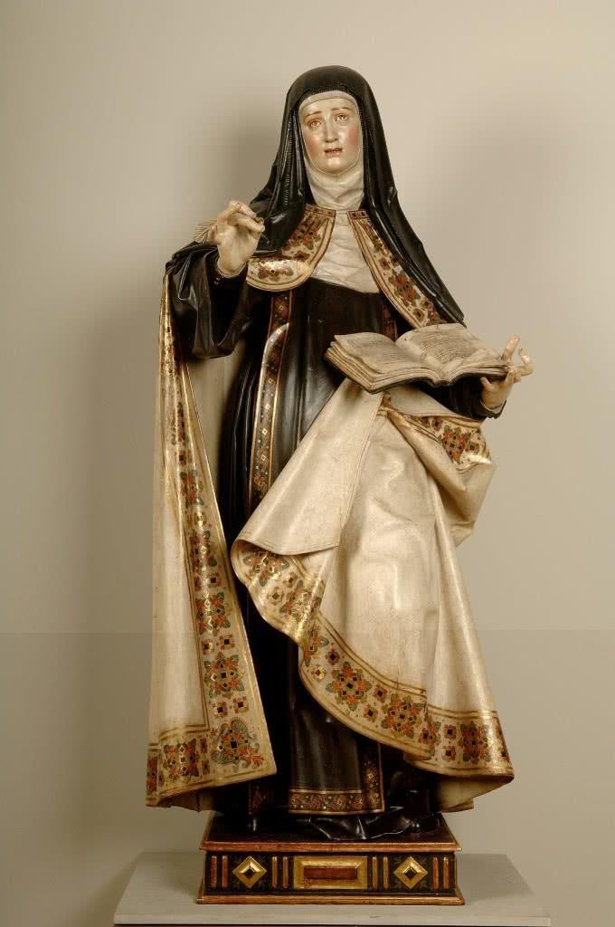Gregorio Fernández. Santa Teresa de Jesús. Museo Nacional de Escultura de valladolid