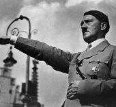 Adolf Hitler Saluting, 1934