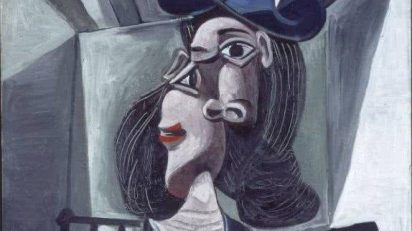 Femme au chapeaux, Picasso, Kunstmuseum de Basilea. Detalle.