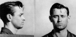 Police mugshot of James Earl Ray