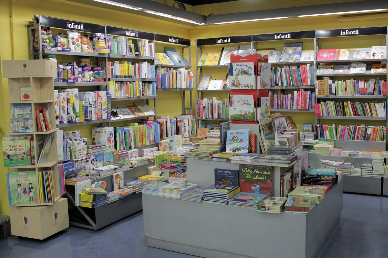 Libros infantiles. Foto: Sonia Aguilera