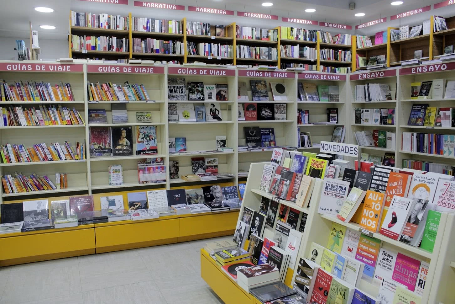 Libros. Foto: Sonia Aguilera