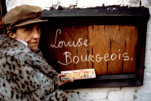 Louise Bourgeois, 1980. Foto: Mark Setteducati
